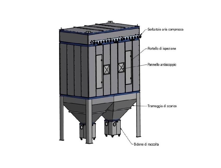 Depolveratore-filtro-a-maniche